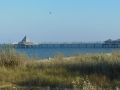 Blick auf die Seebrücke